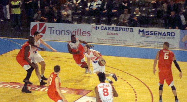 (Basket) Denain battu par Bourg