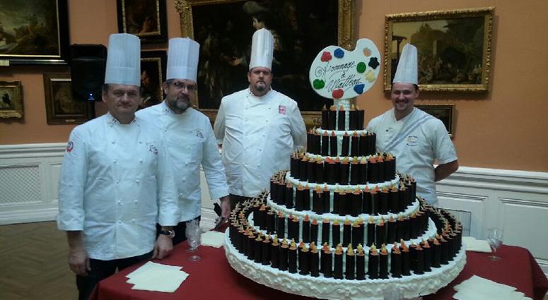 Les Pâtissiers du Hainaut à la Foire Commerciale