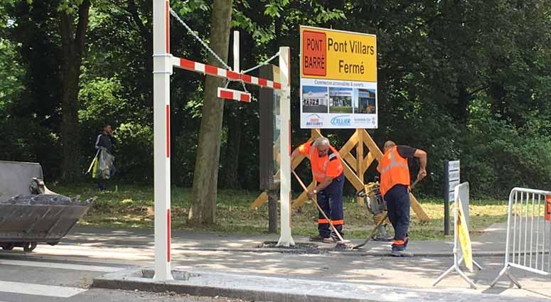 Réouverture du Pont Villars ce mercredi 24 mai à 17H à Valenciennes
