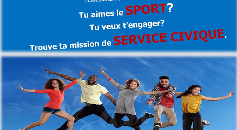 Service civique et sport à Marly