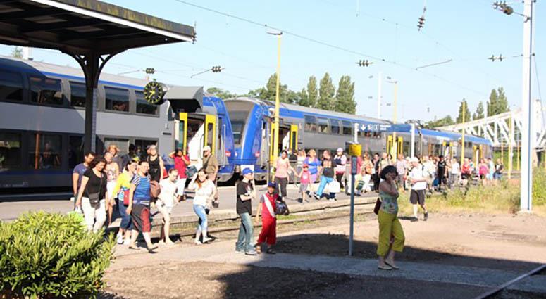 Le TER Vert revient à Saint-Amand-les-Eaux