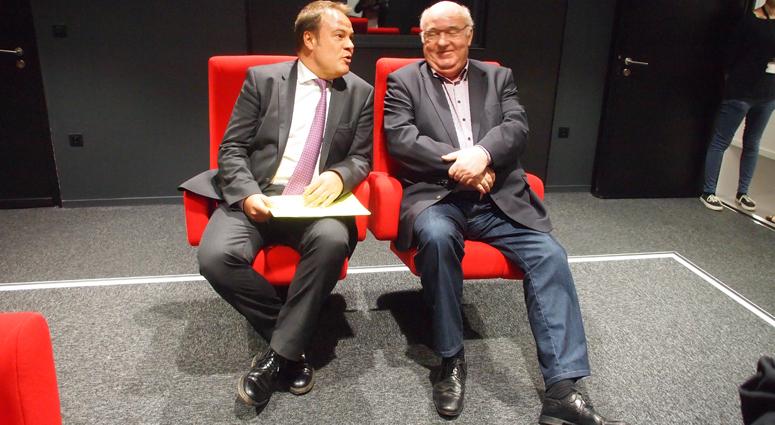 (Retro) Alain Bocquet et Laurent Degallaix, un duo aggloméré