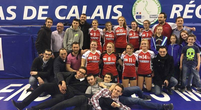 Arnaud Legrand réélu Président du Volley Club de Valenciennes