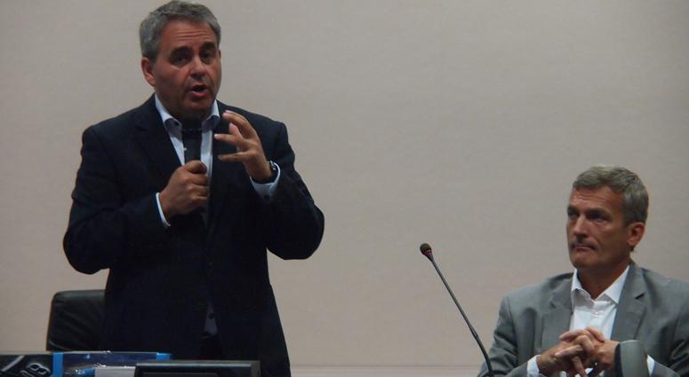 Xavier Bertrand «La région s'engagera pour le GNV»