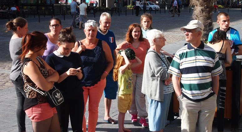 Hommage aux victimes de l'attentat à Nice sur Valenciennes