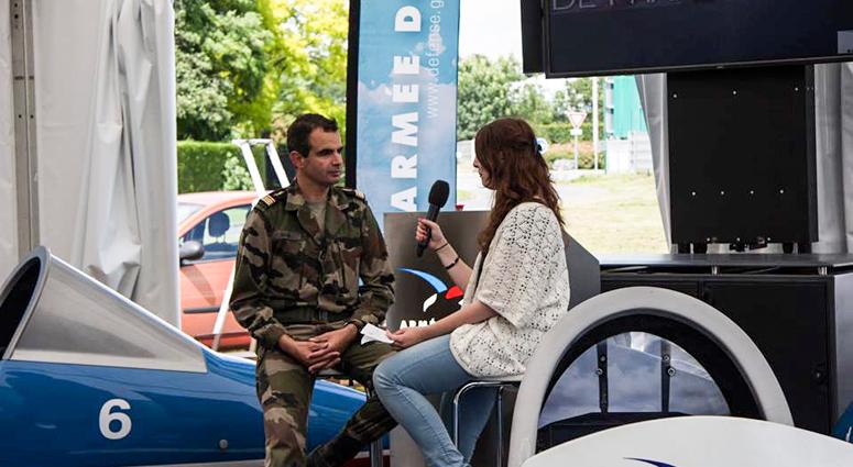 Hainaut TV prêt pour le meeting aérien à Prouvy