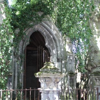 Les hêtres pleureurs de Rosult caressent la chapelle St Roch