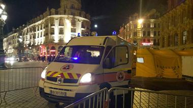 La protection civile présente à l'Euro 2016 sur Lille