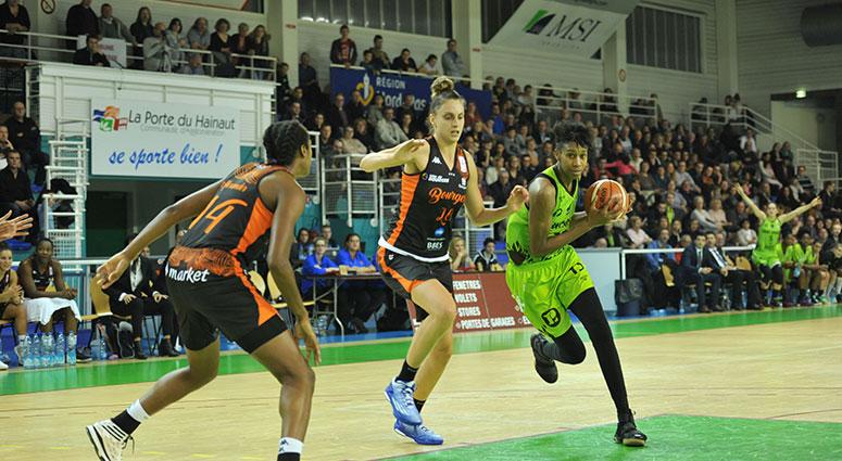 (Basket) Battu par Bourges, le Saint-Amand Hainaut Basket a bien résisté