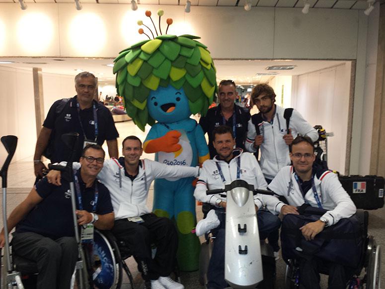 (Paralympique) Rio, une étape pour Christophe Tanche