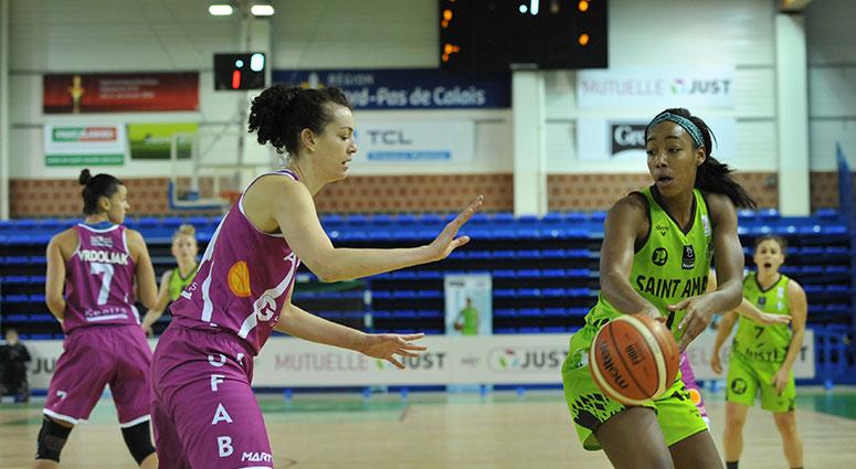 (Basket) Victoire du Saint-Amand Hainaut Basket face à Angers