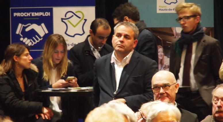 Xavier Bertrand fait sa réunion régionale de quartier… !