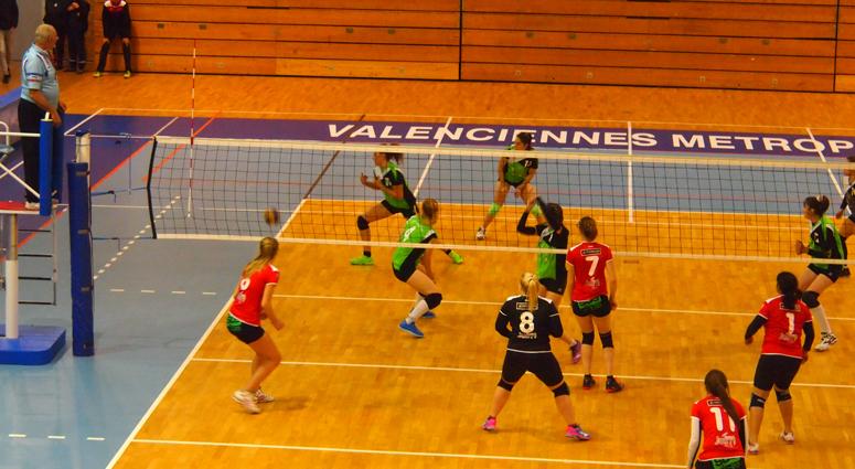 (Volley) Les Valenciennoises étouffées par Harnes