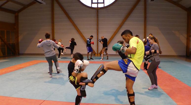 Muay Thai au dojo d'Anzin
