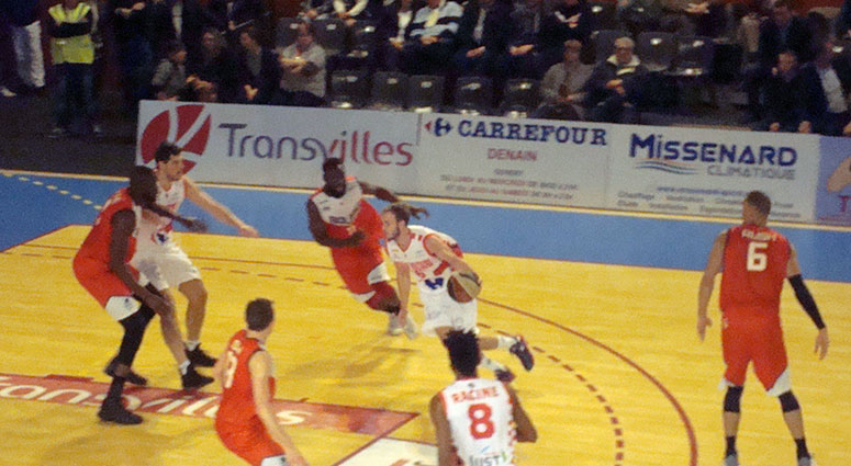 (Basket) Denain battu par Bourg