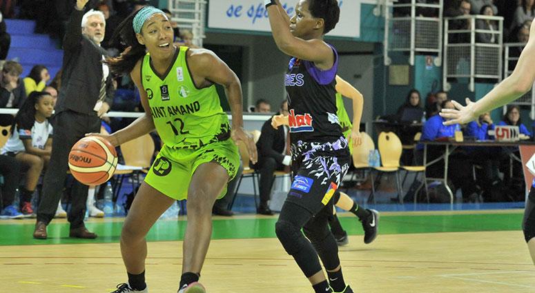 (Basket) Victoire du Saint-Amand Hainaut Basket face à Tarbes