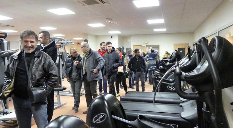 Ce jeudi 29 décembre, le TSBV accueillait l'inauguration de la nouvelle salle du club HERACLES