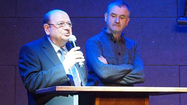 Jean Carli et Patrick Roussiès
