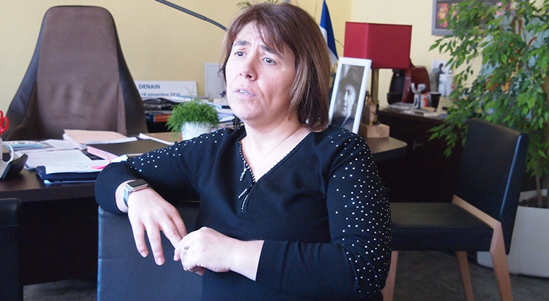 Anne-Lise Dufour «nous sommes devant l'extrême droite et la droite extrême !»