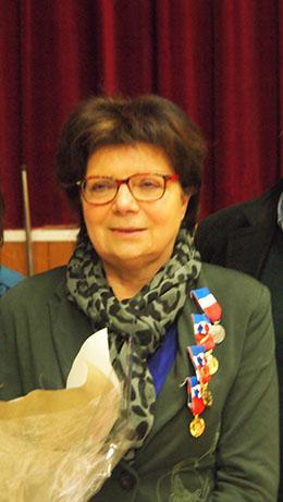 Joëlle Leloir, médaillée Grand Or du travail