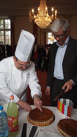 Philippe Guilbert et Thierry Devimeux