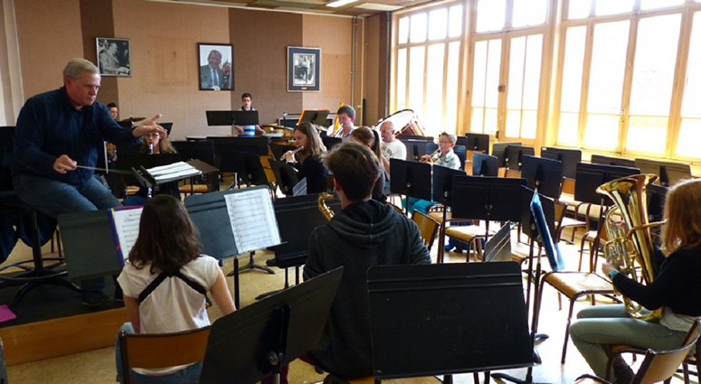 Ecole intercommunale de musique à Quarouble
