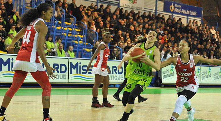 (Basket) Le Saint-Amand Hainaut Basket griffe Lyon