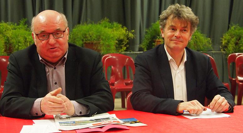 Le ticket Fabien Roussel/Alain Bocquet entre en campagne