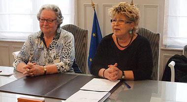 Cécile Gallez et Lydie Librizzi
