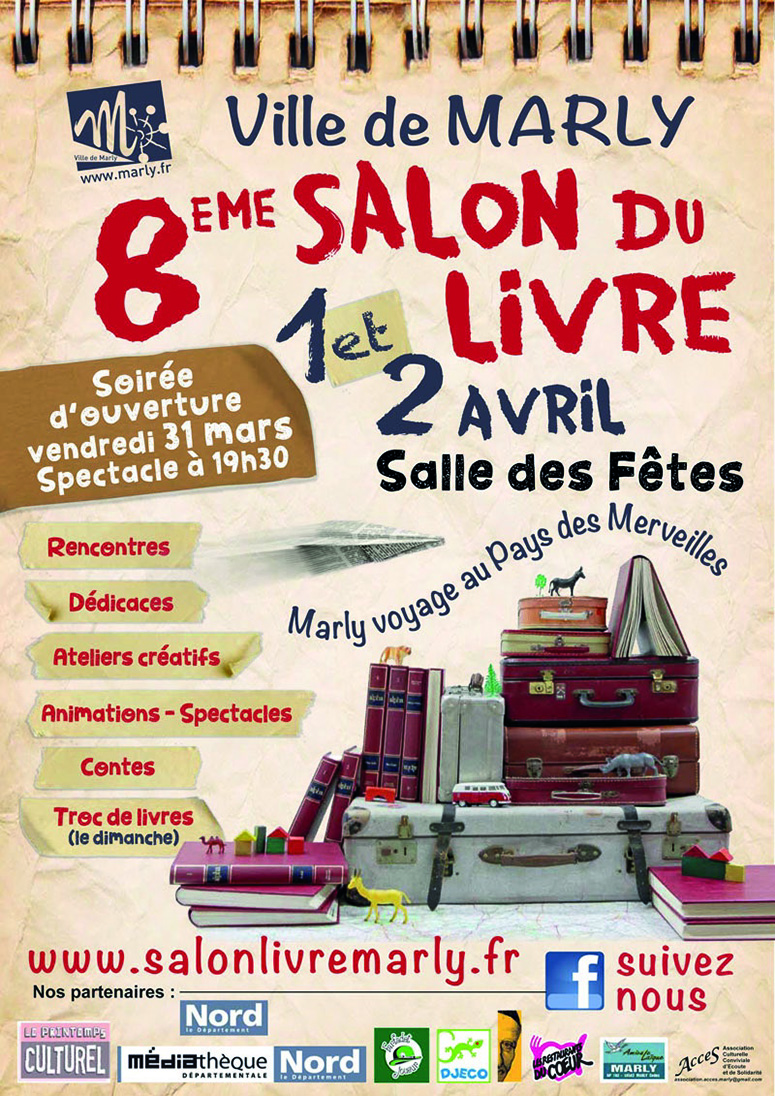 Affiche a3 salon du livre va for Salon du livre 2017