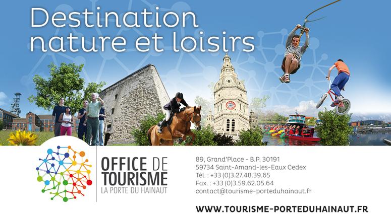 L'Office de Tourisme de La Porte du Hainaut s'associe aux Journées Nationales Tourisme et Handicap