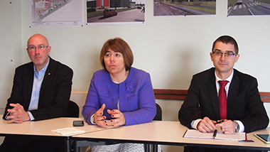 Emmanuel Cherier, Anne-Lise Dufour et Olivier Labarhe