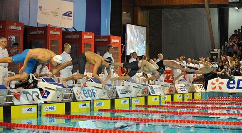 Championnat de France natation Masters à Dunkerque