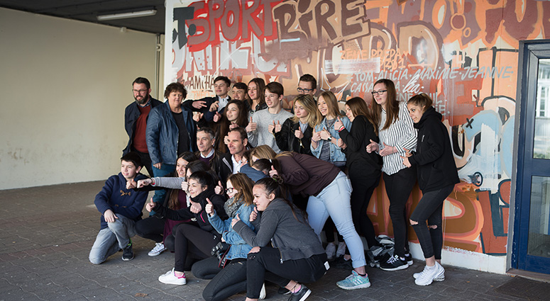 Lycée La Sagesse Valenciennes : le beau projet des 3èmes prépa pro