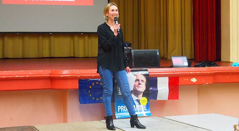Delphine Alexandre : «Votez Emmanuel Macron… dès le 1er tour»