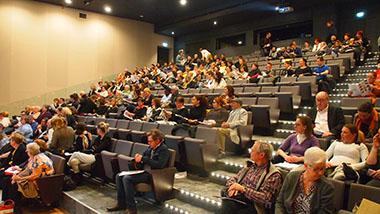 Auditorium dans la Cité des Congrès
