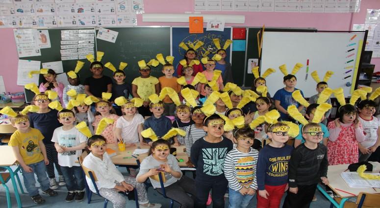 Valenciennes. Des marsupilamis  à l'école du Cariot.