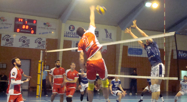 (Volley) Bellaing se maintient en Elite
