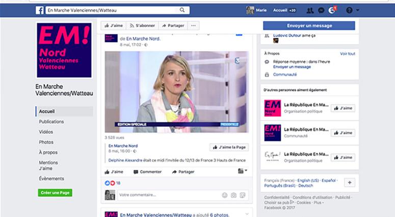 Facebook, Delphine Alexandre : «Une procédure en justice sera engagée sans rectification immédiate »