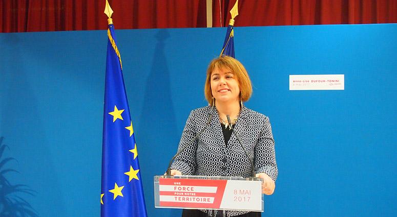 Anne Lise Dufour : « je suis candidate pour rassembler, pour fédérer»