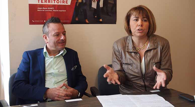 Anne-Lise Dufour : «Un député Front National, c'est un député de perdu !»