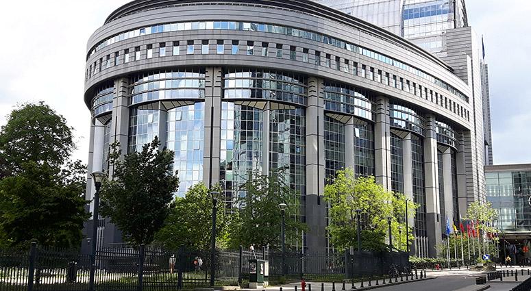 Le lycée du Pays de Condé en visite au siège de l'U.E à Bruxelles