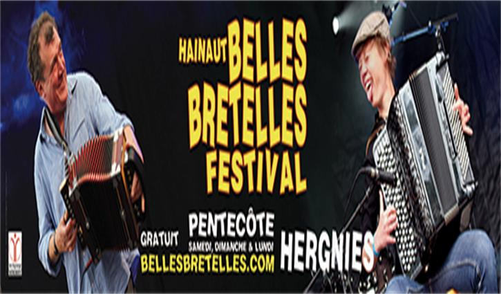 J – 2 pour Les belles bretelles :   3 jours de concerts et de fête au son de l'accordéon.