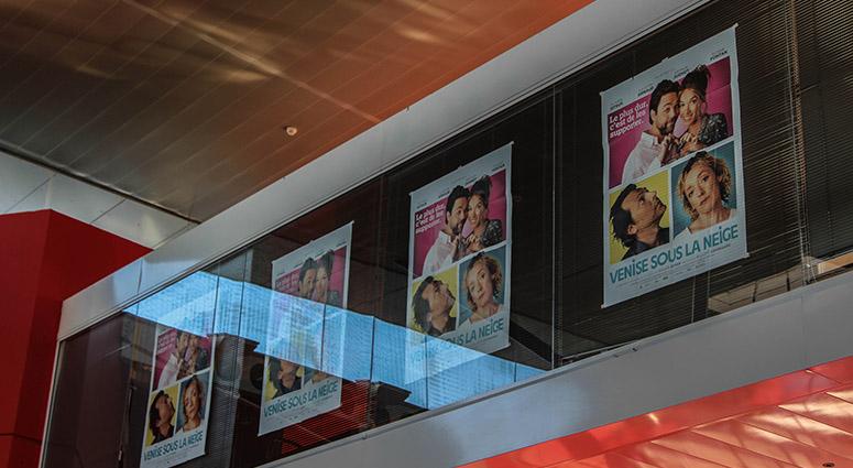 Le film «Venise sous la neige»au Gaumont à Valenciennes