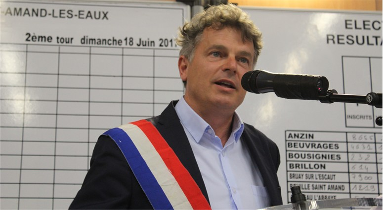 Fabien Roussel, nouveau député de la 20e circonscription.