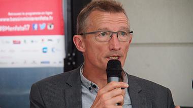 Jean-François Caron, vice-président de l'association Mission Bassin Minier