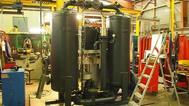 Epurateur en fabrication chez Chaumeca