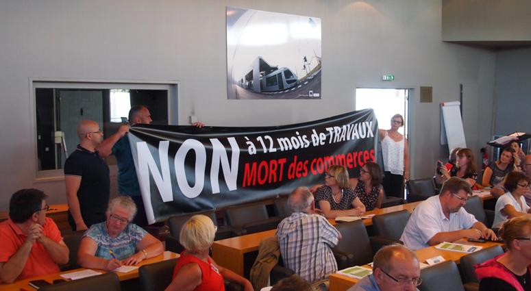 Le commerce condéen s'invite au Conseil de Valenciennes Métropole
