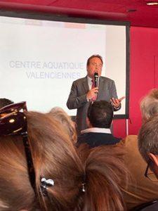 Laurent Degallaix, maire de Valenciennes