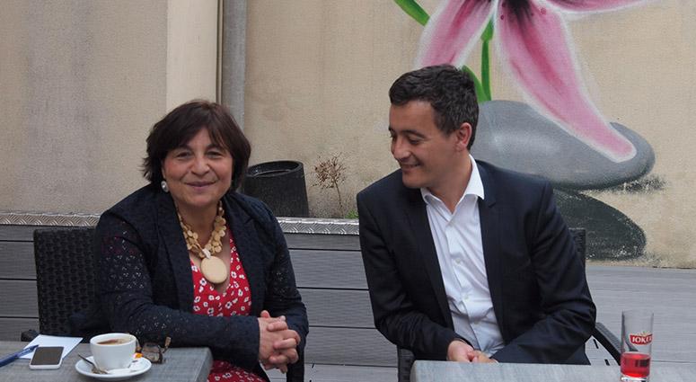 Sabine Hebbar «j'ai confiance dans le report des voix pour le second tour»
